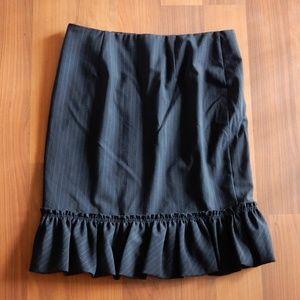 Ruffle hem skirt by Express
